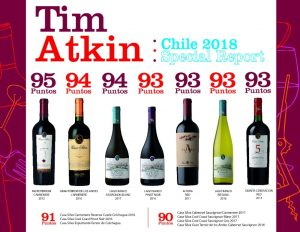 Tim Atkin : Chile 2018 Special Report….